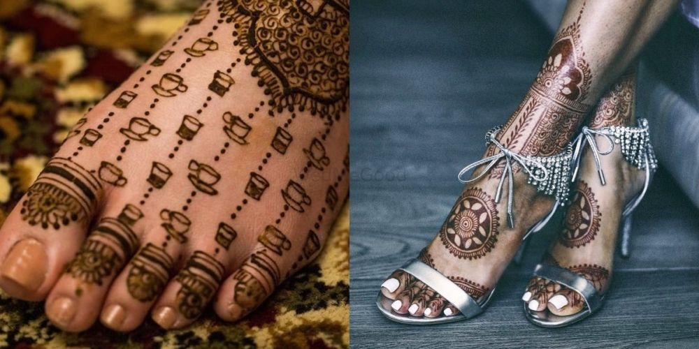 Trendy New Feet Mehendi Designs That Are Perfect For Your Upcoming Wedding!