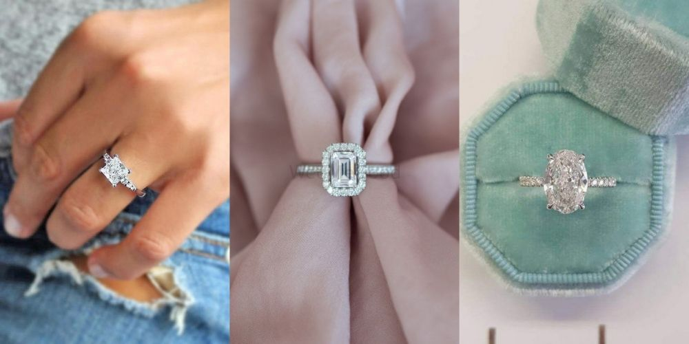 The Most Unique Diamond Engagement Rings Other Than A Round Solitaire