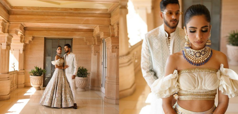 A Royal Jodhpur Wedding With The Whole Fam In Coordinated Outfits