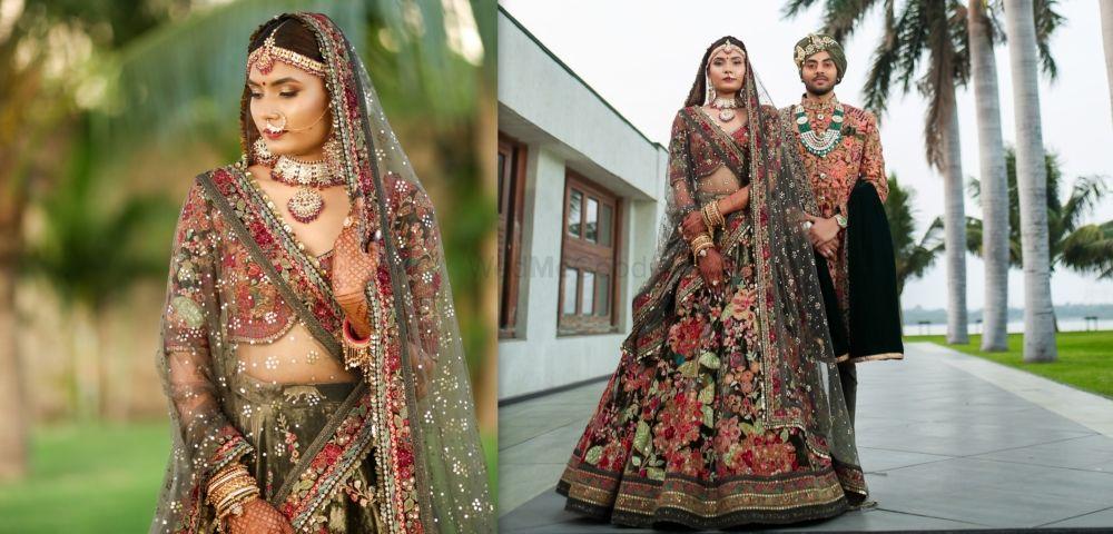 Stunning Wedding With An Offbeat Bridal Lehenga